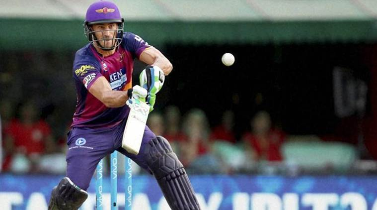Faf du Plessis, Faf du Plessis Pune, RPS, Rising Pune Supergiant, Faf RPS, South Africa vs England, SA vs Eng, Eng vs SA, IPL 2017, IPL 10, Cricket news, Cricket, Sports, Indian Express
