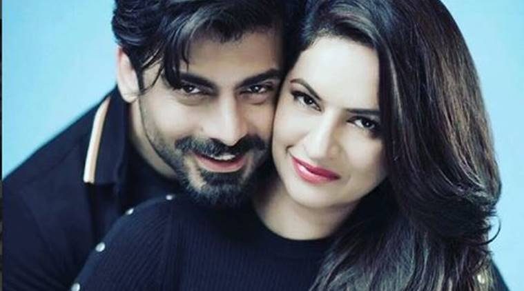 Image result for fawad khan and his wife latest shoot