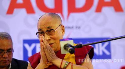 The Dalai Lama at Express Adda