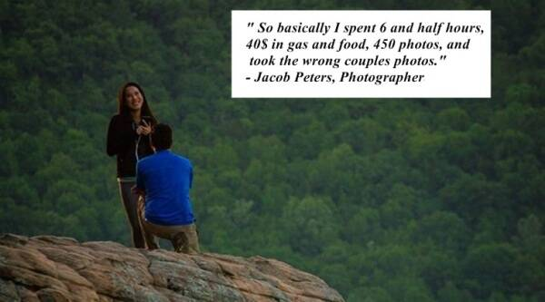 Oops Photographer Shoots The Wrong Couple For 6 Hours And Then