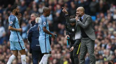 Fernandinho sees improvement during 'tough' season for Manchester City