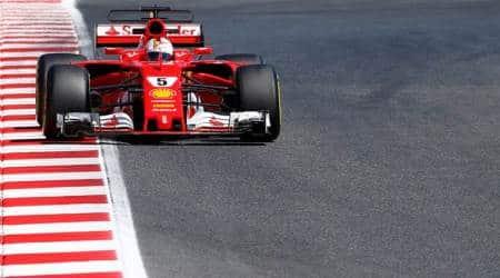Ferrari, Ferrari news, Ferrari updates, Kimi Raikkonen, Kimi Raikkonen news, Sebastian Vettel, sports news, sports, Indian Express