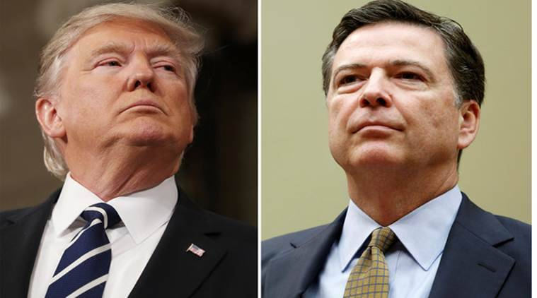 James Comey, Donald Trump, Donald Trump James Comey, Russia Probe, Indian express, World news