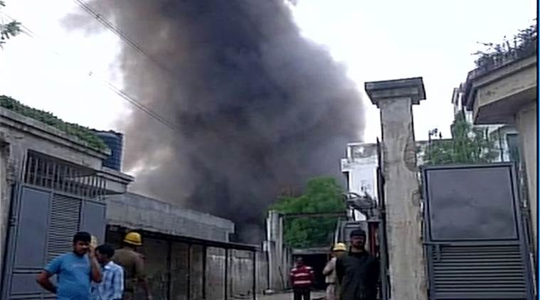 chattisgarh fire, raipur fire, india news, indian express news