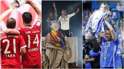 Real Madrid end La Liga title drought, John Terry's Chelsea journey ends with 5th Premier League trophy