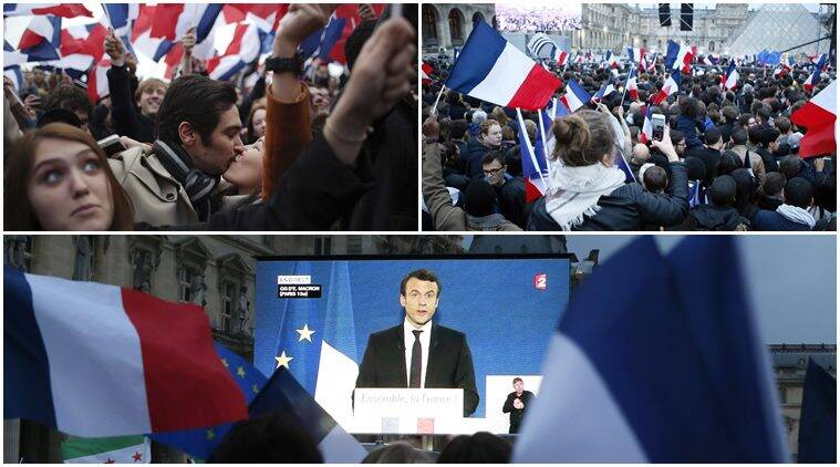 Pro European Union Emmanuel Macron Becomes France S Youngest President World News The Indian Express