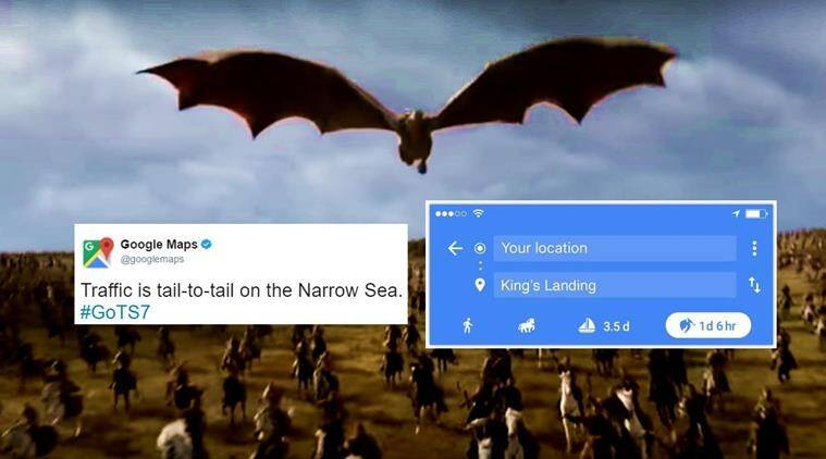 game of thrones twitter reactions, game of thrones season 7, game of thrones S7 trailer, games of thrones trailer views, game of thrones season 7 trailer, Game of Thrones, GoT, Game of Thrones season 7, GoT season 7, Game of Thrones trailer, GoT trailer, GoT fans, Game of Thrones fans, GoT television, HBO, Game of Thrones channel, television news, entertainment news, indian express news