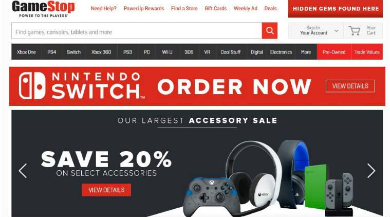 Gamestop Corp, Nintendo Switch,Take Two Interactive, Red Dead Redemption 2, Best Buy Co. Target Corp,Nintendo Switch games, Splatoon, Super Mario Odyssey,Sony Corp, Micorosoft Corp, AT&T branded wireless stores, Technology, Technology news