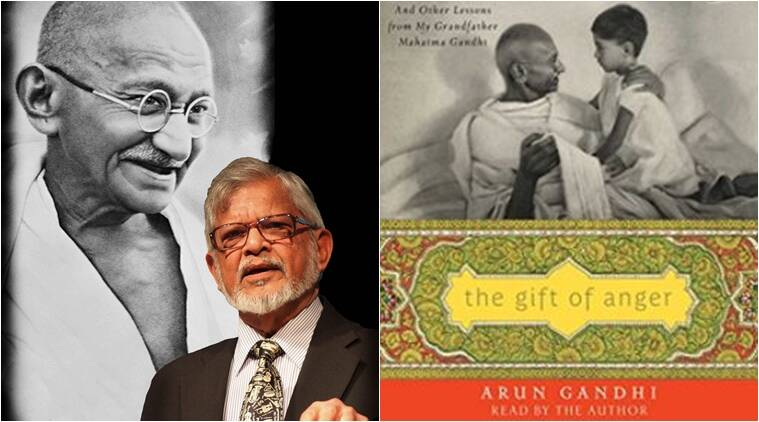 books, latest books, arun gandhi, father of the nation, gandhi, gandhi's grand son, book on gandhi, book by arun gandhi, The Gift of Anger , indian express, indian express news