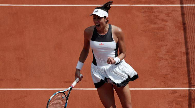 French Open champion Muguruza drops 1st set