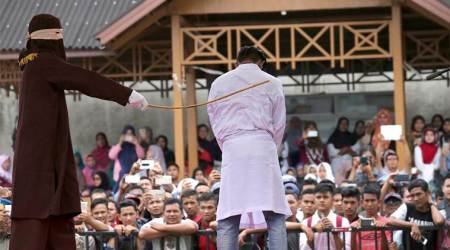 Indonesian men to be caned for gay sex