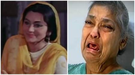 Pakeezah actor Geeta Kapoor abandoned by children, she claims son would tortureher