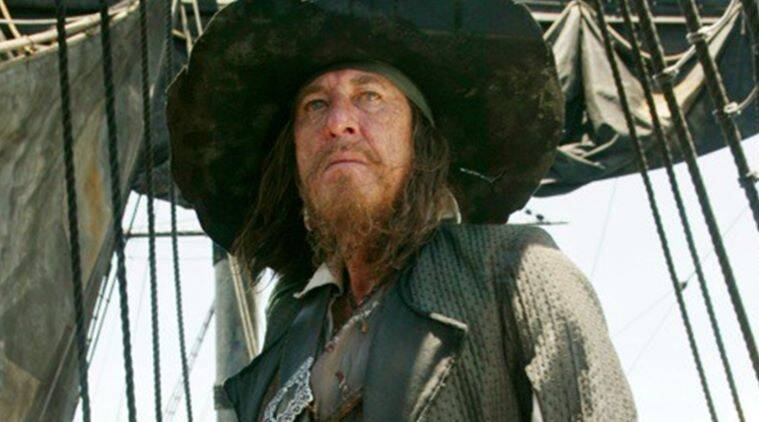 GEOFFREY rush, Geoffrey rush Pirates of the Caribbean, Pirates of the Caribbean Salzaar's revenge, Pirates of the Caribbean movies