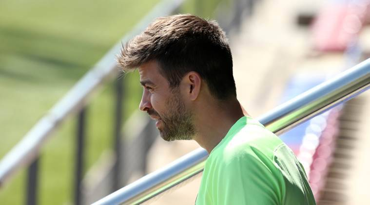 barcelona, barcelona copa del rey final, copa del rey final, barca cop del rey, gerard pique, pique, barcelona squad, luis enrique, football news, sports news, indian express