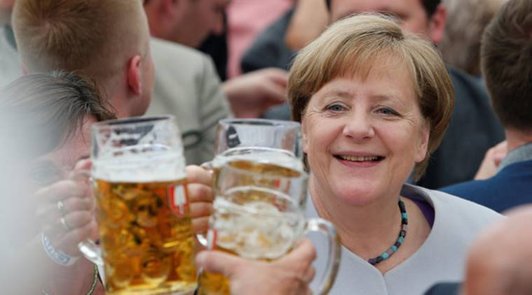Angela Merkel, Merkel speech, Donald Trump, Emannuel Macron, German Elections