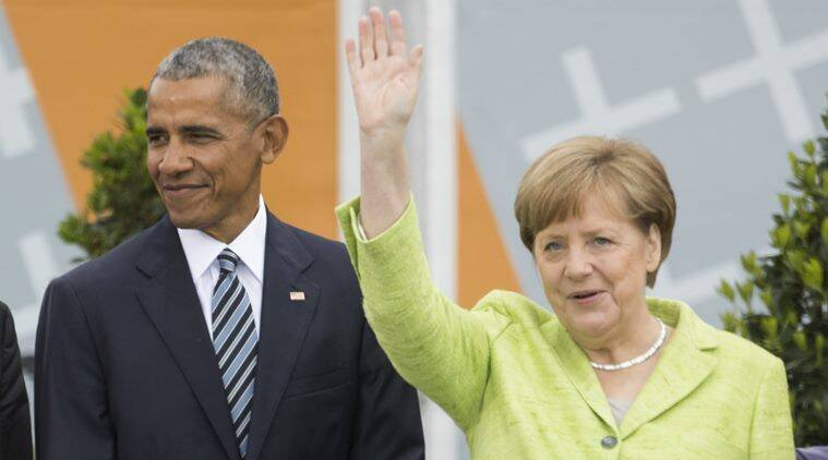 Merkel, Obama to attend podium discussion at Berlin event