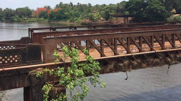 goa bridge collapse, Sanvordem, Portuguese-era bridge collapse, Curchorem constituency, goa woman suicide, latest news, goa news, india news