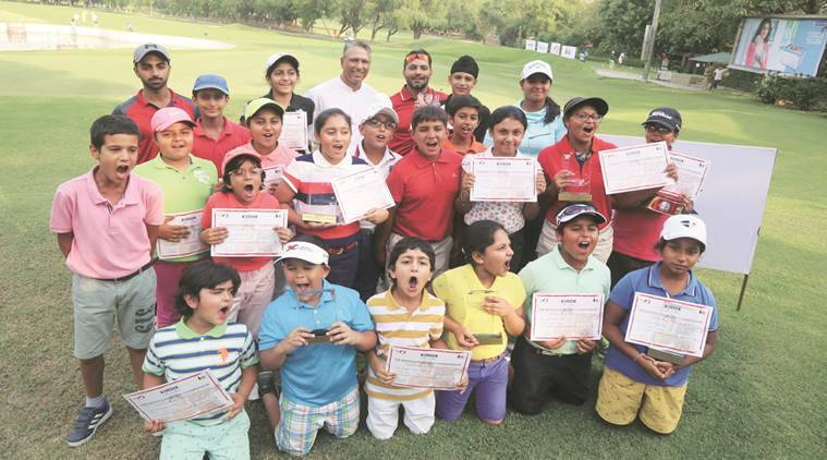 Jeev Milkha Singh, Golf championship, Junior Golf Championship, Milkha, Guvinder Singh, Jaanish Jeev Singh, Indian express news, India news, Latest news, Golf news