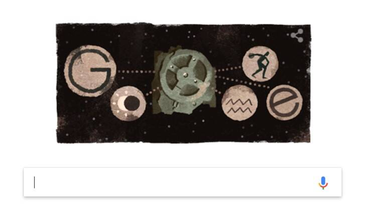 Google Logo Tells Us What Is The Antikythera Mechanism