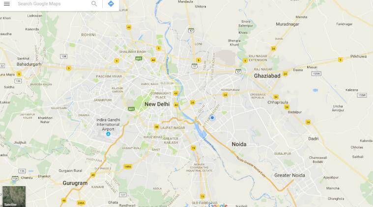 google maps updated with india specific features a look at what s new the indian express. Black Bedroom Furniture Sets. Home Design Ideas