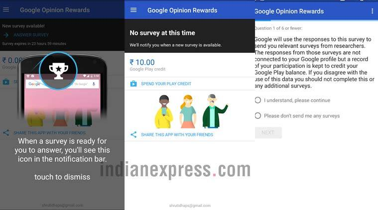 Google Opinion Rewards is Finally Available in India