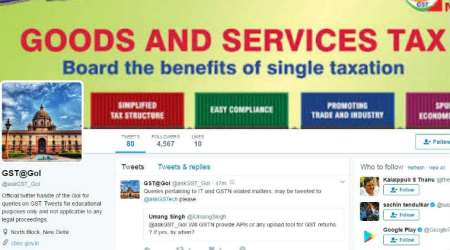 Revenue dept sets up twitter handle to answer GST queries