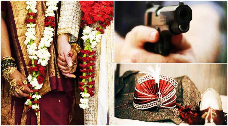 wedding war, woman takes groom at gun point, gun point woman groom, wedding woman revolver groom, revolver rani, groom kidnapped woman with gun, indian express, indian express news