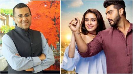 Half Girlfriend writer Chetan Bhagat: Arjun Kapoor-Shraddha Kapoor are somewhere in between full and nothing, hence the term 'half'