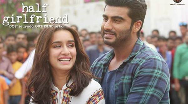 Half Girlfriend movie review, Half Girlfriend review, Half Girlfriend, Half Girlfriend movie, Arjun Kapoor, Shraddha Kapoor