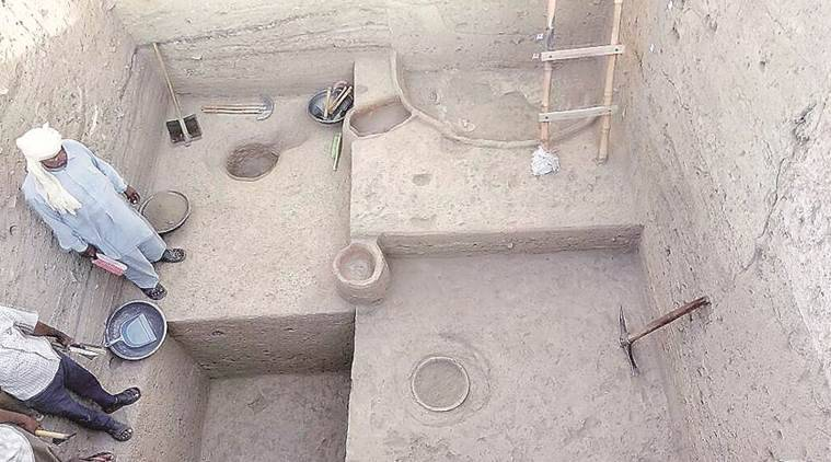 harappan civilisation, harappa, haryana archaeologists, Indian Archaeological Society, HAMD, kunal, pre-harappan site, haryana, fatehabad district