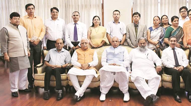 Haryana Vigyan Ratna Award, BJP, BJP government, Vigyan Ratna Award, haryana, Prof KC Bansal, Dr Satish Kumar Gupta, indian express news, india news
