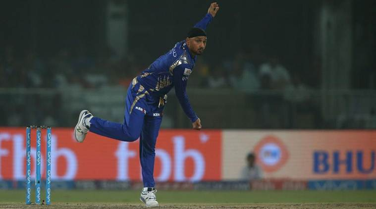 Harbhajan Singh, Harbhajan Singh news, Harbhajan Singh bowling, Harbhajan Singh wickets, ms dhoni, sports news, sports, Indian Express