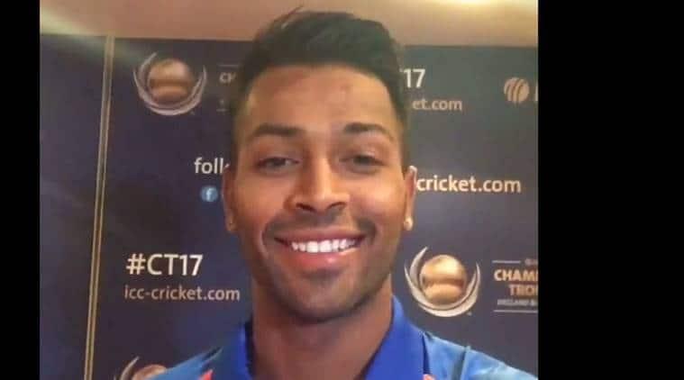 ICC Champions Trophy 2017, ICC Champions Trophy 2017 news, ICC Champions Trophy 2017 updates, Hardik Pandya, India vs New Zealand, New Zealand India, sports news, sports, cricket news, Cricket, Indian Express