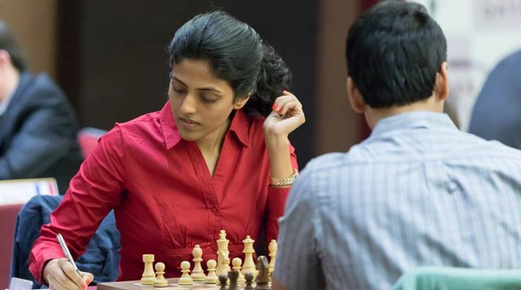 Harika Dronavalli, Master's Tournament, Abu Dhabi, International Chess Festival