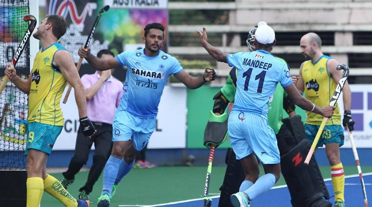 roelant oltmans, india vs australia, india australia, india australia hockey, azlan shah hockey, india australia azlan shah, hockey news, sports news, indian express