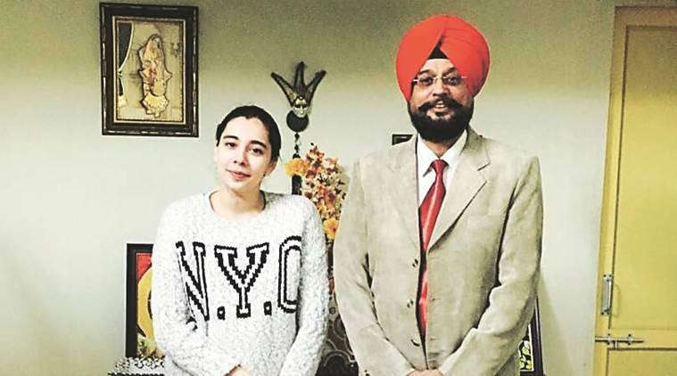 cbse 12th toppers, cbse 12th pune topper, cbse disabled 12th toppers, cbse class 12 results 2017, harmehar kaur grewal, indian express