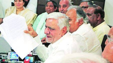 Manesar land deal: 11 Congress MLAs rally around Hooda, allege BJP conspiracy to target him