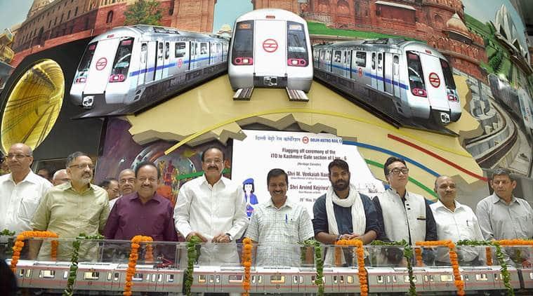 delhi metro, Delhi Metro's Heritage Line,  ITO to Kashmere Gate metro