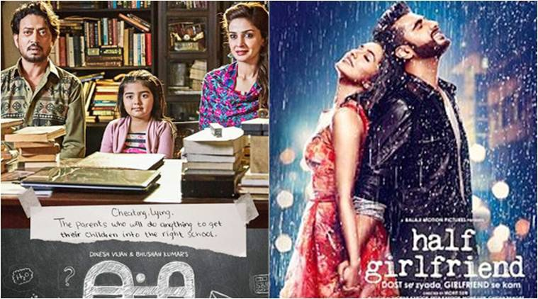 Image result for half girlfriend and hindi medium