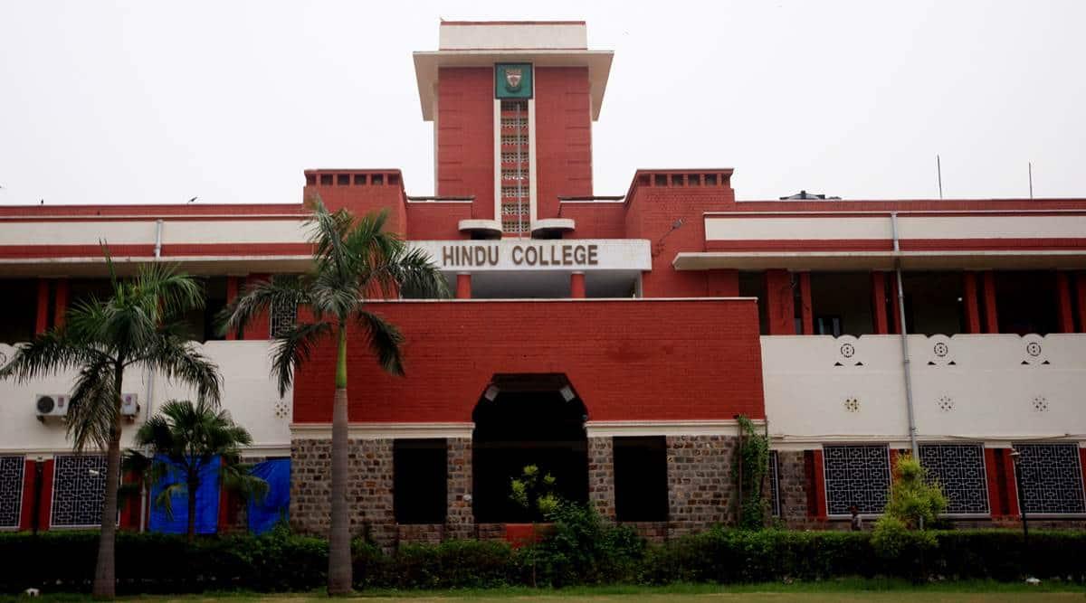 hindu college, hindu college cut offs, hindu college cut off 2021, hindu college admission 2021, delhi university, delhi news, delhi latest news, delhi today news, delhi local news, new delhi news, latest delhi news