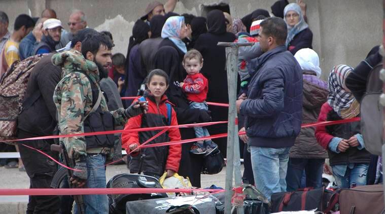 Homs, syria Homs, Homs evacuation, Syria, civil war, IS, Syria rebels, Homs rebels, islamic state, latest news, latest world news