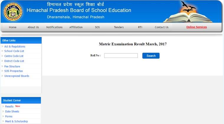 Himachal Pradesh HPBOSE Class 10 results 2017 announced at hpbose.org