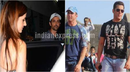 Spotted: Hrithik Roshan and Sussanne Khan spend time with sons, Salman Khan spotted with Sohail Khan
