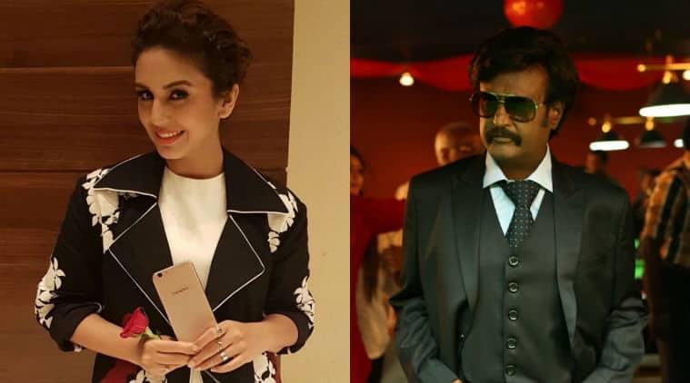 Huma Qureshi, Rajinikanth, Huma Qureshi rajinikanth, Huma Qureshi kaala, Rajinikanth film, kaala, kaala cast