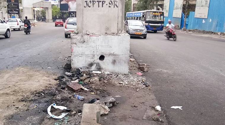 hyderabad accident, andhra accident, Dr P Narayana son accident, Dr P Narayana son dead, Nishit Narayana, Nishit Narayana dead, andhra minister son dead, hyderabad news, india news, indian express news