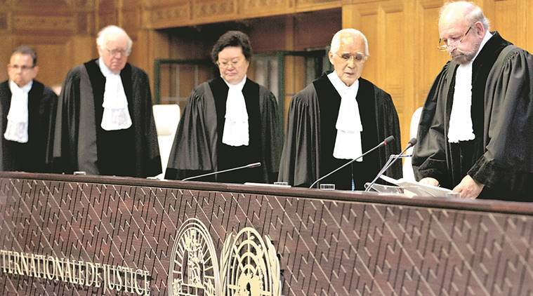 Kulbhushan jadhav, ICJ, Pakistan, Kulbhushan jadhav execution, Pakistan judges, International court of Justice, india news, indian express news