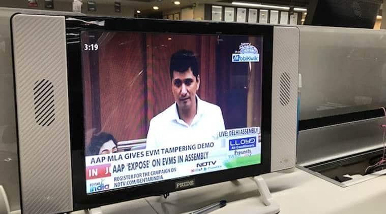 EVM, EVM tamper, AAP, Delhi Assembly