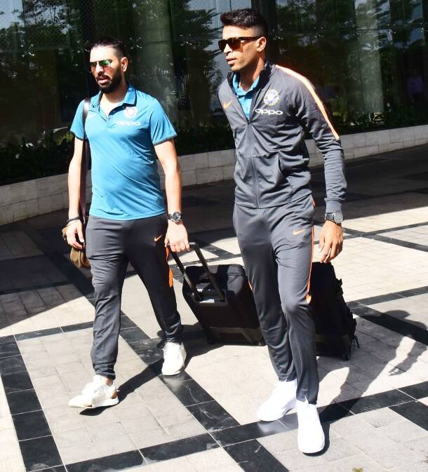 Virat Kohli-led Indian cricket team all set for ICC Champions Trophy in England, see pics