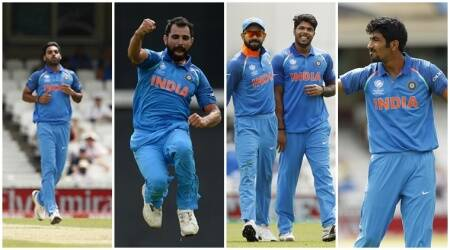ICC Champions Trophy 2017: India's pace quartet give Virat Kohli a happy headache before kick-off