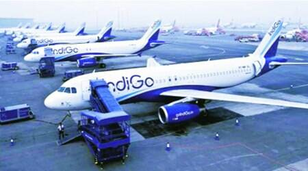 IndiGo support staff go on strike in Varanasi